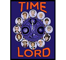Time Lord - doctor who Photographic Print