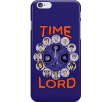 Time Lord - doctor who iPhone Case/Skin