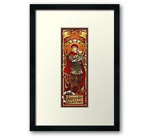 the renaissance man Framed Print