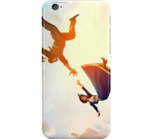 Elizabeth and Booker Bioshock Infinite iPhone Case/Skin