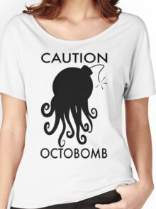 Caution Octobomb Women's Relaxed Fit T-Shirt