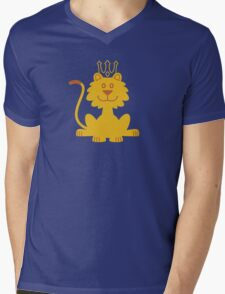 King of the Jungle Mens V-Neck T-Shirt