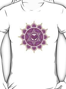 Anahata Heart Chakra Centre Of Love & Compassion T-Shirt