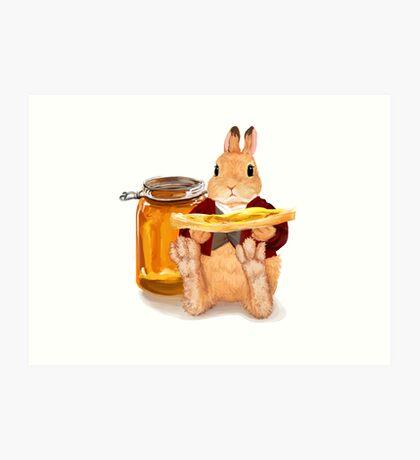 Honey Pot Art Print