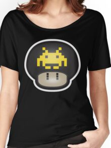 Mushroom-Invaders Women's Relaxed Fit T-Shirt