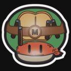Mushroom-Mutant Turtle by DarkChoocoolat