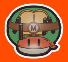 Mushroom-Mutant Turtle Kids Clothes