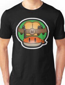 Mushroom-Mutant Turtle Unisex T-Shirt