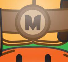 Mushroom-Mutant Turtle Sticker