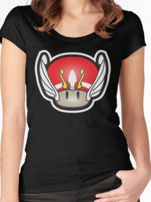 Mushroom-Seya Women's Fitted Scoop T-Shirt