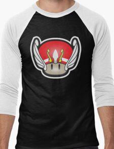 Mushroom-Seya Men's Baseball ¾ T-Shirt