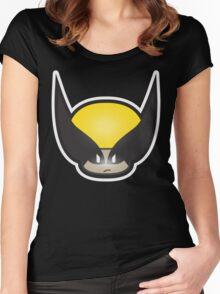 Mushroom-Wolvi Women's Fitted Scoop T-Shirt