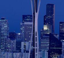 Beautiful Emerald City Seattle Space Needle Sticker