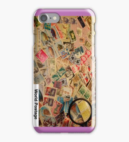 Stamps Worldwide iPhone Case/Skin