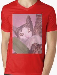 In the pink jungle Mens V-Neck T-Shirt