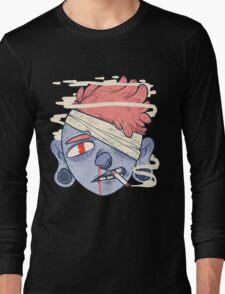 ciggie butt brain Long Sleeve T-Shirt