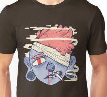 ciggie butt brain Unisex T-Shirt
