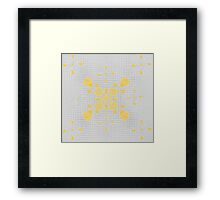 Glorious Gold - Prettily Paisley Framed Print