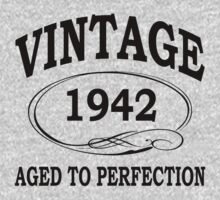 vintage 1942 aged to perfection by diannasdesign