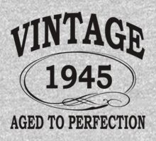 vintage 1945 aged to perfection by diannasdesign