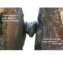 Problems Photographic Print