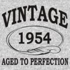 vintage 1954 aged to perfection by diannasdesign