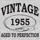 vintage 1955 aged to perfection by diannasdesign