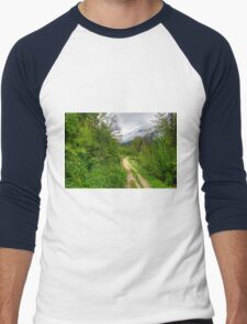 Spring meets winter in the Alps Men's Baseball ¾ T-Shirt