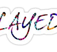 Creator Layed  Sticker