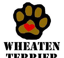 I Love My Wheaten Terrier by kwg2200