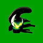 alien pop culture silhouette by zxandungoTV