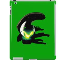 alien pop culture silhouette iPad Case/Skin