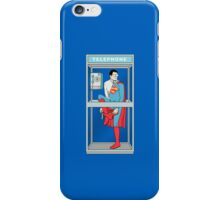 Superman in problem iPhone Case/Skin