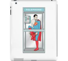 Superman in problem iPad Case/Skin