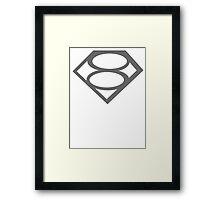 Kal-el       Hope Framed Print