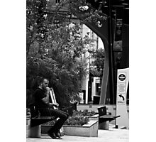 Just Sittin. Photographic Print