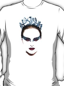 Black Swan face T-Shirt
