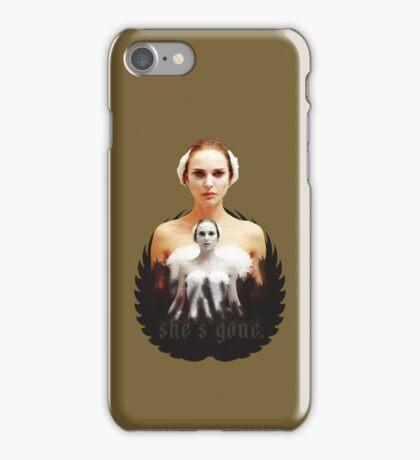 Black Swan sweet girl iPhone Case/Skin