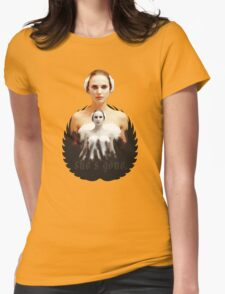 Black Swan sweet girl Womens Fitted T-Shirt