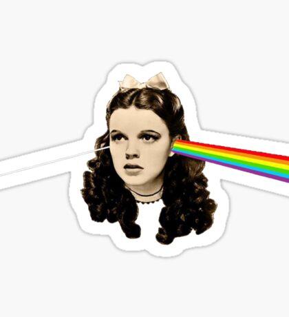 Dark side of the Rainbow Sticker