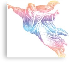 Colorful God Canvas Print