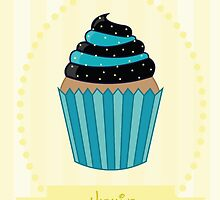 Jasmine Cupcake Case by lirazartberger