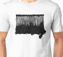 LINEart T-shirt : Black Ink Unisex T-Shirt