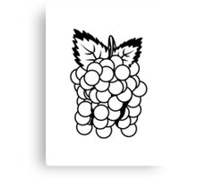 Grapes fruit sweet fruit Canvas Print