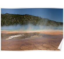 Grand Prismatic Spring at Midway Geyser Basin Poster
