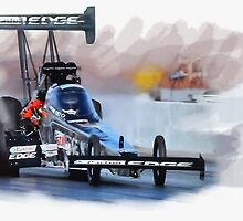 Brittany Force Top Fuel by Lightrace