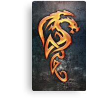 Golden Dragon Canvas Print