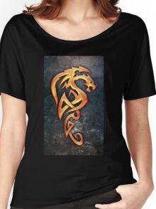 Golden Dragon Women's Relaxed Fit T-Shirt