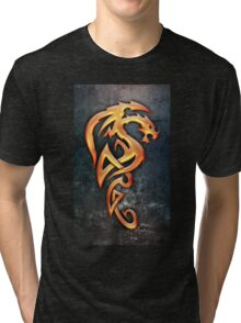 Golden Dragon Tri-blend T-Shirt
