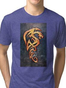 Golden Dragon Tri-blend T-Shirt